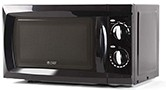 Commercial Chef CHM660B Countertop Counter Top Microwave, 0.6 Cu. Ft, Black
