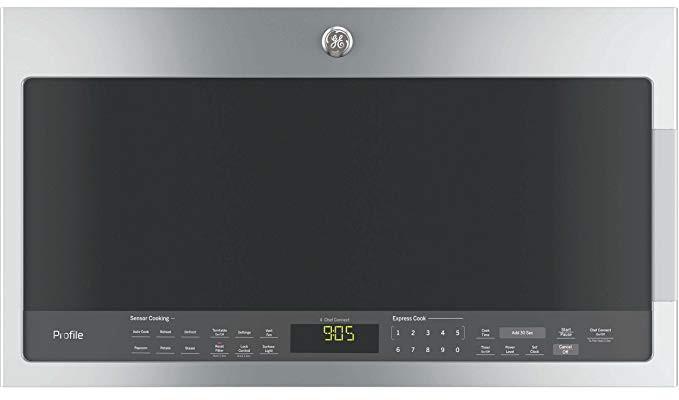 GE PVM9005SJSS Microwave Oven Hood