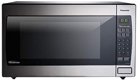 Panasonic Microwave Oven NN-SN966S Stainless Steel Countertop:Built-In with Inverter Technology and Genius Sensor, 2.2 Cu. Ft, 1250W
