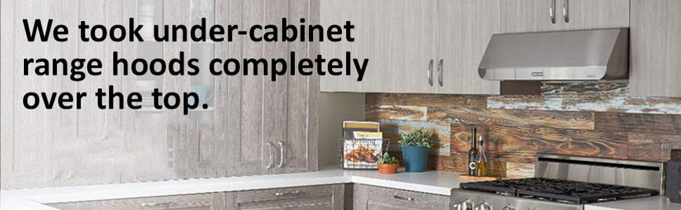 Best Under Cabinet Range Hoods Review-Whicart.com