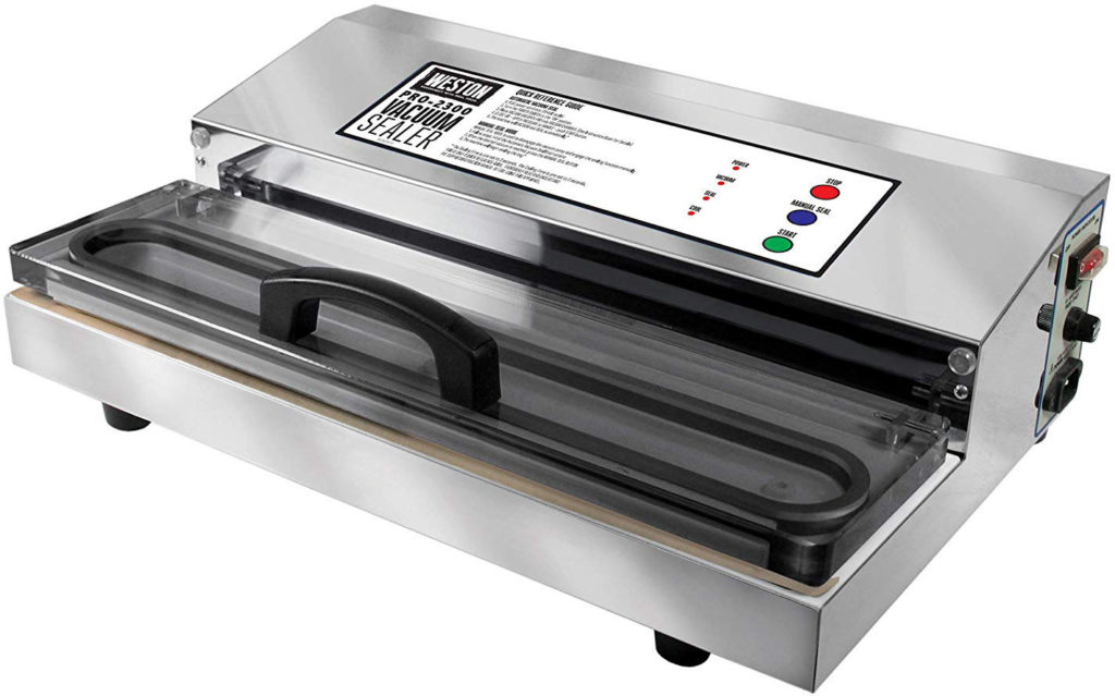 Weston Pro-2300 Commercial Grade Stainless Steel Vacuum Sealer