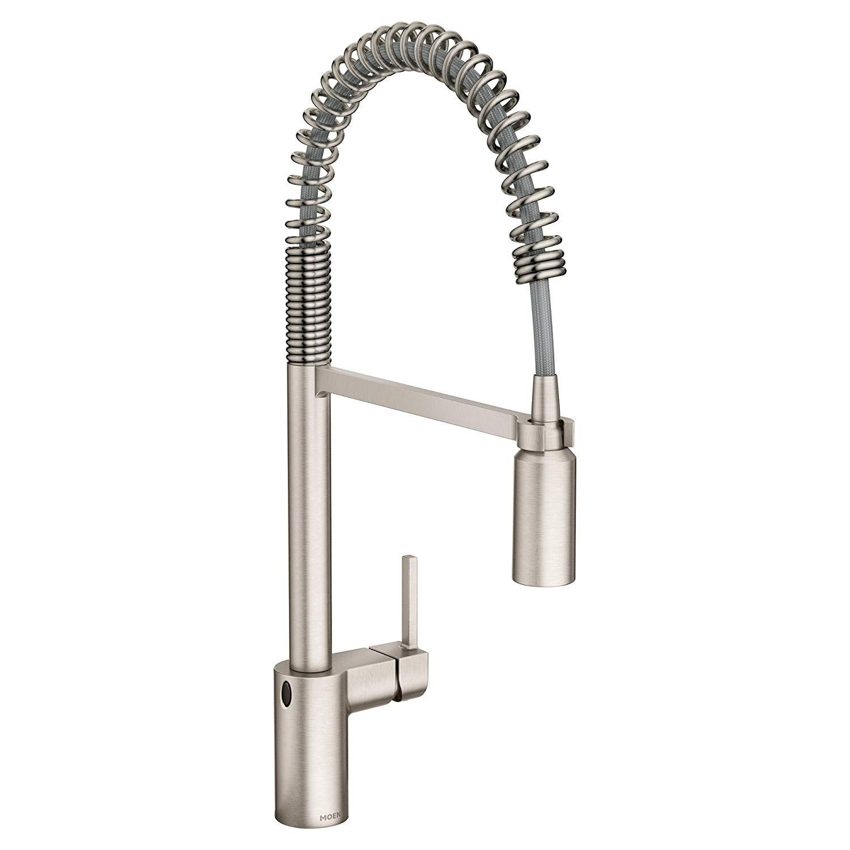 Moen 5923EWSRS Align Motionsense Wave Sensor Touchless Pulldown Kitchen Faucet