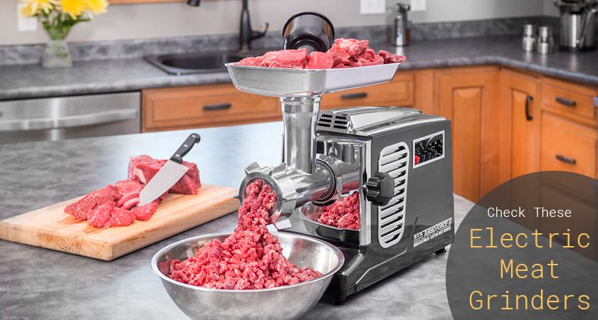 best electric meat grinders reviews