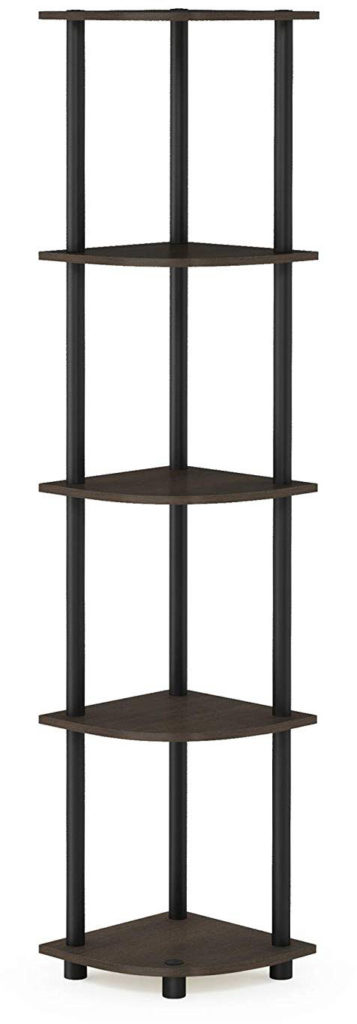 Furinno Turn N Tube 5 Tier Corner Shelf