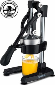 Gourmia GMJ9970 Large Citrus Juicer – Commercial Grade Press Orange, Grapefruit and Lemon Press Juicing