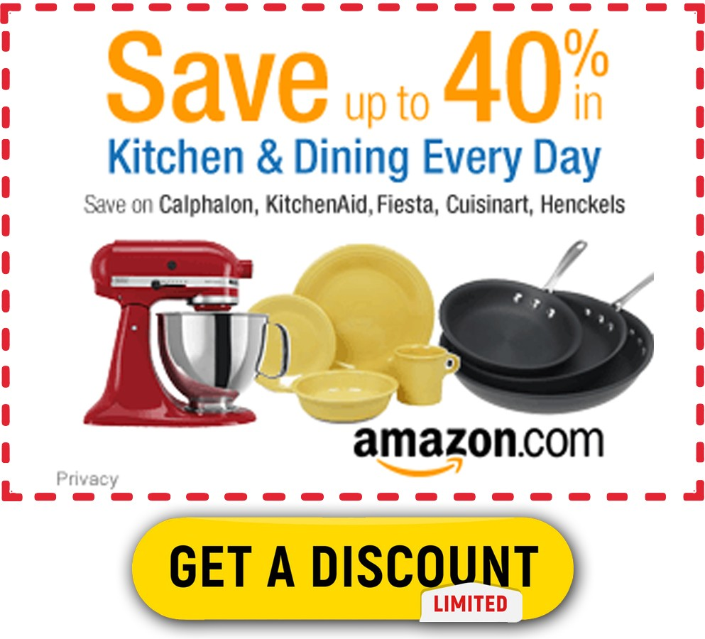 kitchen amazon save up to 40%