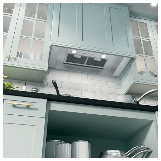 Why do you need a convertible range hood in the kitchen?