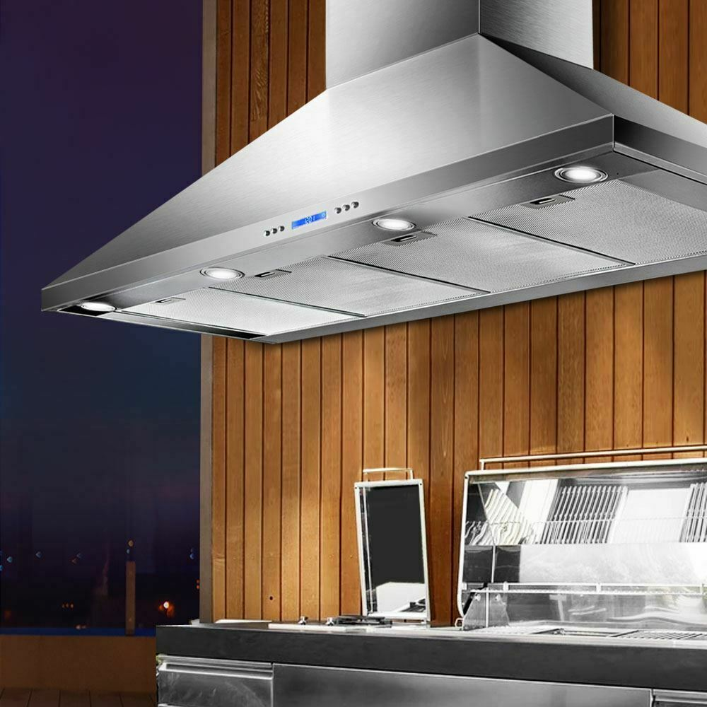 Where do you want to install a vent range hood