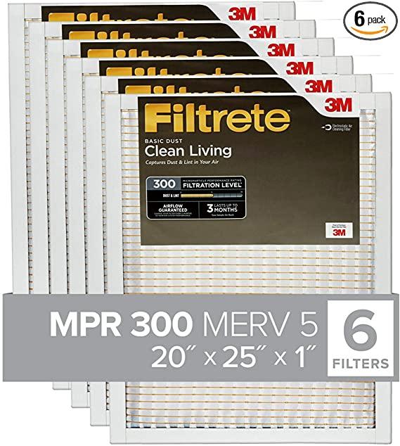 Filtrete 20x25x1, AC Furnace Air Filter