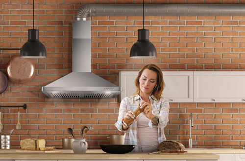 How To Vent A Range Hood On An Interior Wall