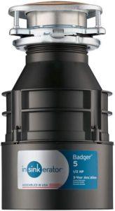 InSinkErator Garbage Disposal, Badger 5