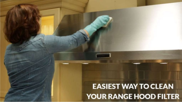 easy to clean filter rang hood
