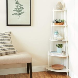 Frenchi Home Furnishing 5-Tier Corner Stand