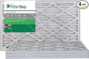 FilterBuy 14x24x1 Air Filter MERV 8, Pleated HVAC AC Furnace Filters