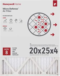 Honeywell Home 4-Inch High Efficiency Air Cleaner Filter