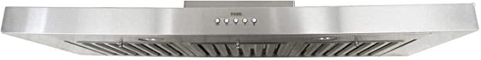 KOBE RAX2130SQB-1 Brillia 30-inch Under Cabinet Range Hood